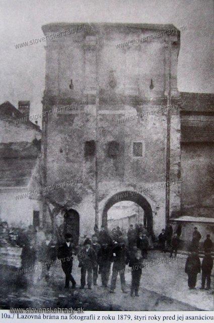 Banská Bystrica - brána mestských hradieb