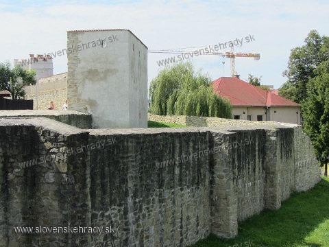 Bardejov - pravouhlá bašta
