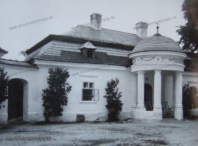 Blatnica - barokovo-klasicistická kúria