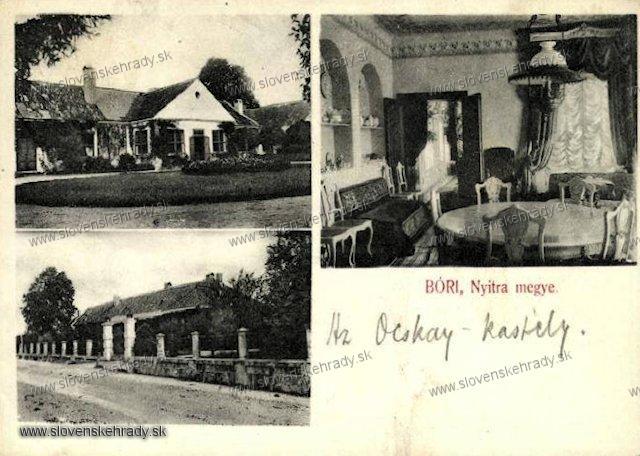Borovce - kúria