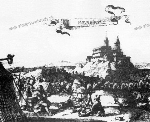 Branč - (detail), medirytina a lept J. Nypoorta, 1686
