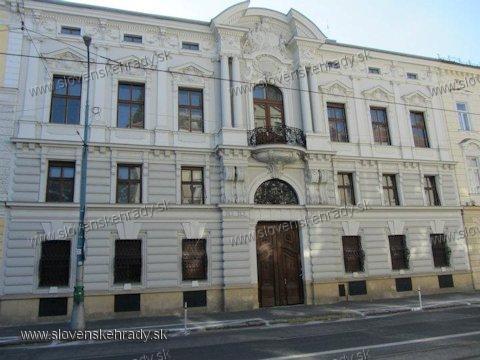 Bratislava - palác Vidora Csákyho