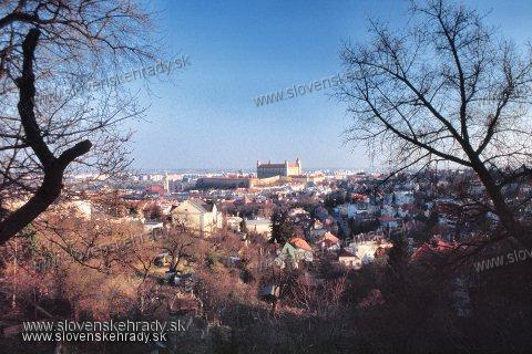 Bratislavský hrad - pohľad od severu