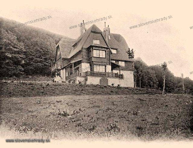 Buková - poľovnícky kaštieľ - zbierka Borovszky