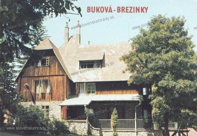 Buková - poľovnícky kaštieľ
