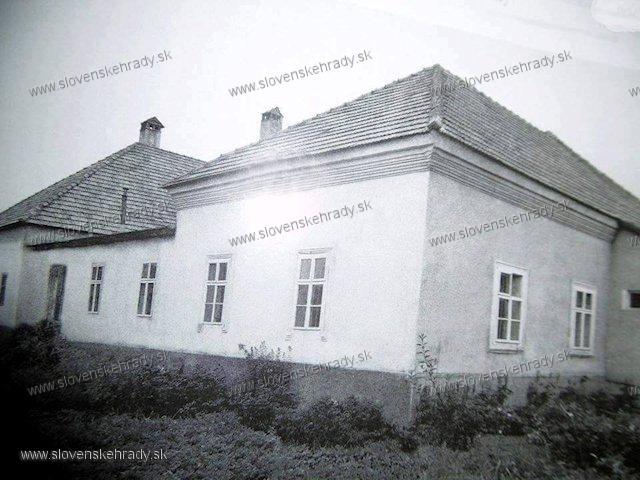 Bystrička - kúria Ľudovíta a Viliama Lehockých