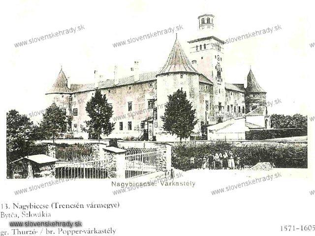 Bytča - sken z knihy Régvolt Magyar