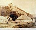 Čabraď - hrad