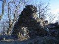Čierny hrad - detail na vežu