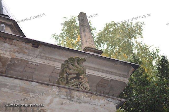 Dolná Krupá - mauzóleum rodu Chotek