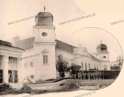 Dolná Strehová - kaštieľ na prelome 19. a 20.storočia