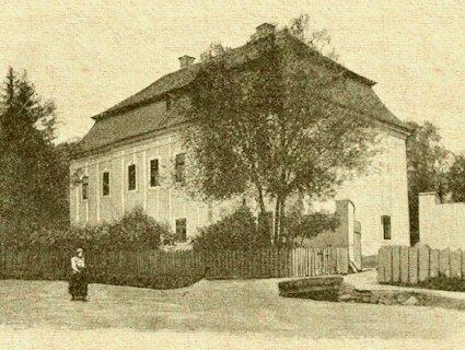 Drnava - barokovo-klasicistický kaštieľ na prelome 19. a 20.storočia