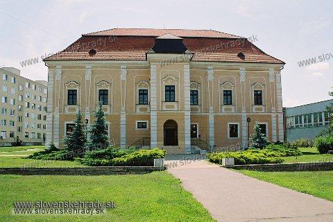 Galanta - renesančno-barokový kaštieľ