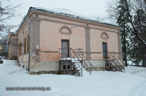 Gánovce - klasicistická kúria