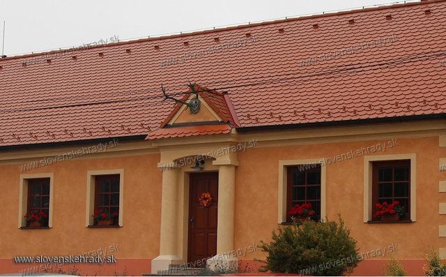 Gbely - kúria - dnes reštaurácia