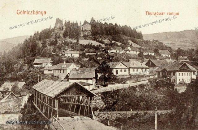 Gelnica - hrad