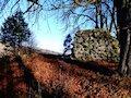 Gelnica - hrad - pozostatky opevnenia pri vstupnej bráne