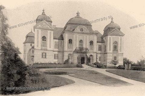 Haličský zámok - zámok na prelome 19. a 20.storočia