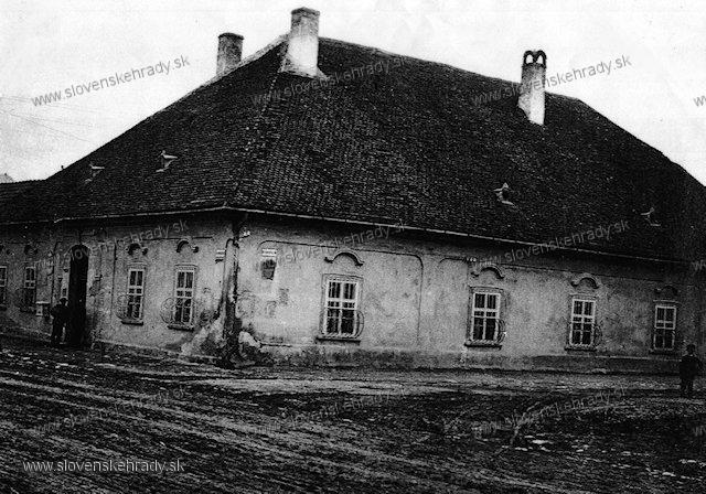 Hlohovec - kúria - začiatok 20. storočia