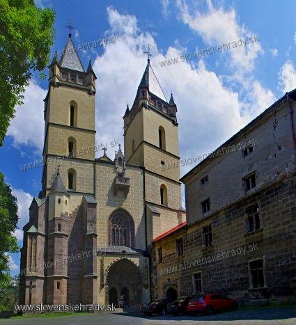 Hronský Beňadik - opevnený kláštor