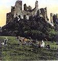 Hrušov - hrad