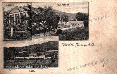 Ipeľský Potok - kaštieľ