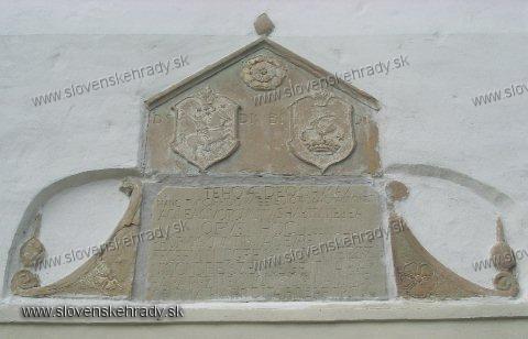 Jasenica - pôvodne renesančný, neskôr zbarokizovaný kaštieľ