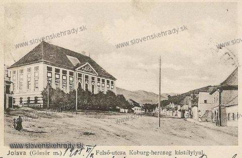 Jelšava - pôvodne renesančný, klasicisticky prestavaný kaštieľ, v roku 1905