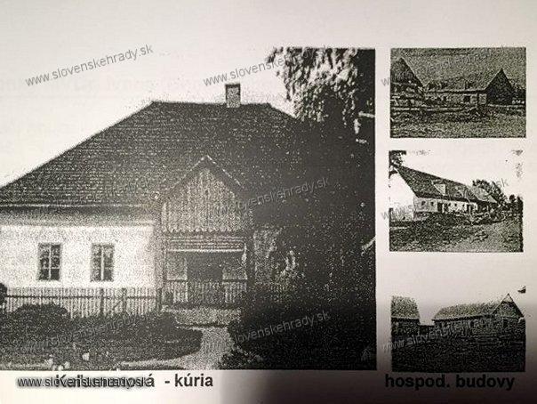 Kaľamenová - kúria