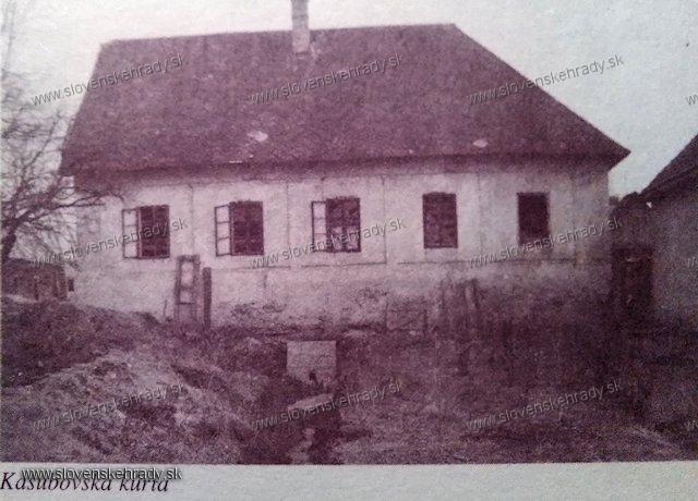 Kaľamenová - Kašubovská kúria