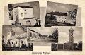 Kecerovské Pekľany - kaštieľ v hornej polovici pohľadnice z roku 1930