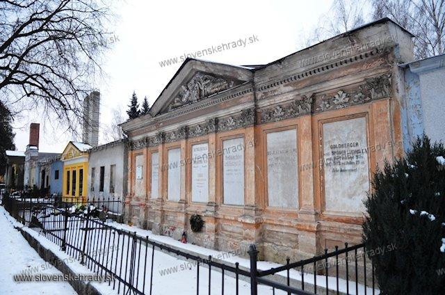 Kežmarok - hrobka rodu Goldberger – Bethlenfalvy