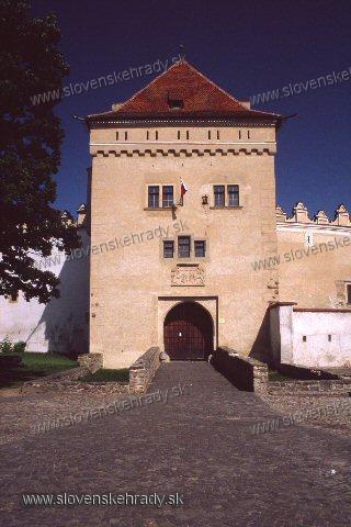 Kežmarský zámok - vstupná veža