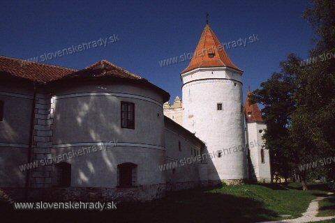 Kežmarský zámok - kruhová veža