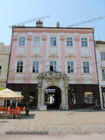 Košice - Hadík - Barkócziho palác