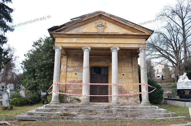 Košice - hrobka rodu  Fületinczi Kelcz