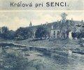 Kráľová pri Senci - kaštieľ tesne pred 2.svetovou vojnou