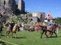 Levický hrad - Levické hradné slávnosti 2009, turnaj na hradnom nádvorí