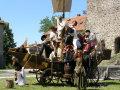 Levický hrad - Levické hradné slávnosti 2011 - šermiarska skupina Cassanova
