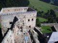 Ľubovniansky hrad - pohľad z veže
