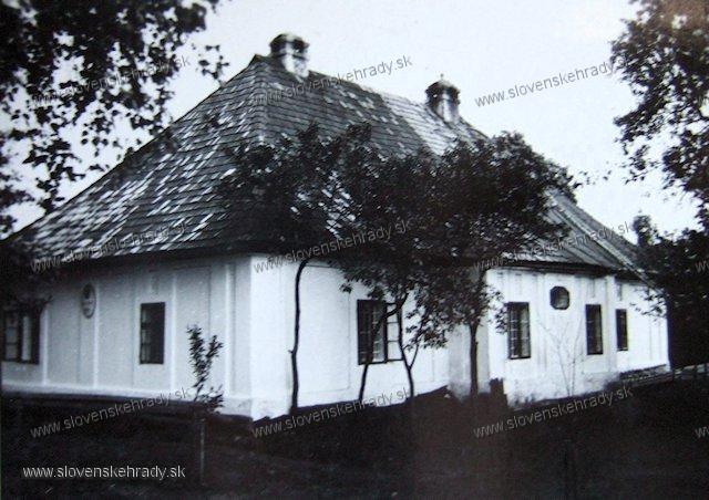 Malý Čepčín - kúria Alberta Csepcsányiho