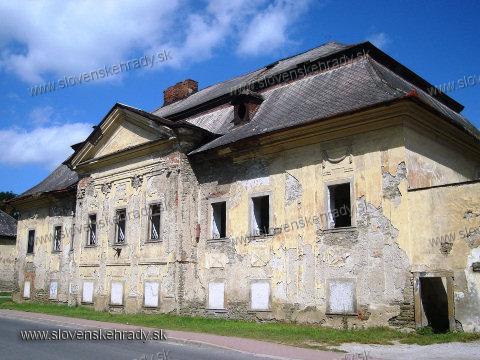 Markušovce - barokovo-klasicistický kaštieľ