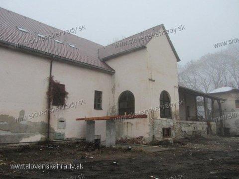Michalovský hrad - neskororenesančný starý kaštieľ
