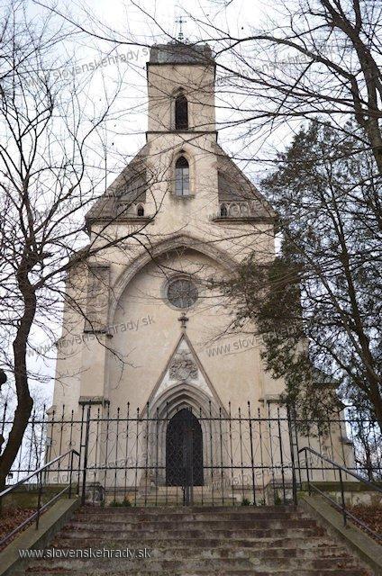 Michalovský hrad - kaplnka rodu Sztáray de Nagymihály et Sztara