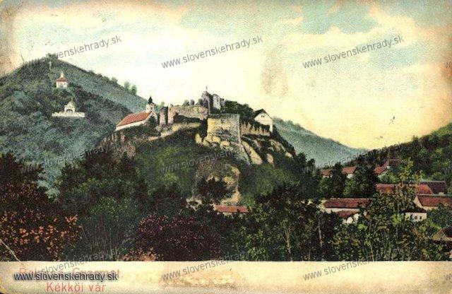 Modrý Kameň - hrad