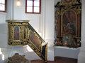 Moravany nad Váhom - kaplnka v kaštieli - doba dávno minulá