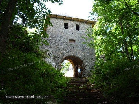 Muráň - vstupná brána