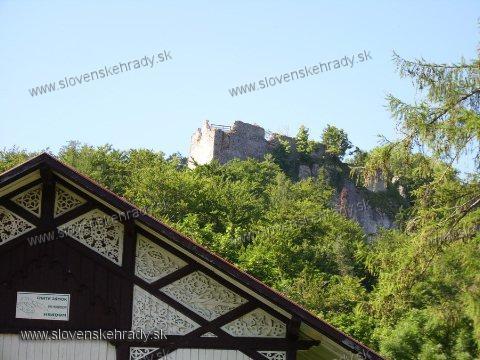 Muráň - pohľad od chaty