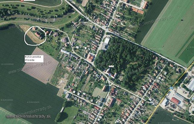 Nitrianska Streda - zaniknutý hrad