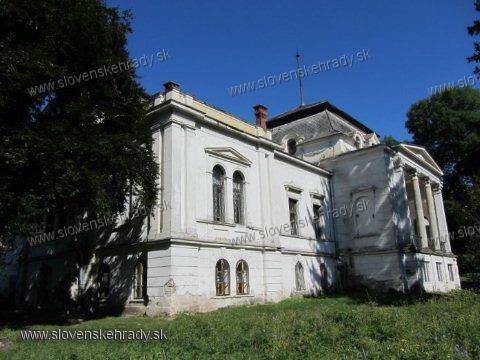 Nižná Kamenica - klasicistický kaštieľ